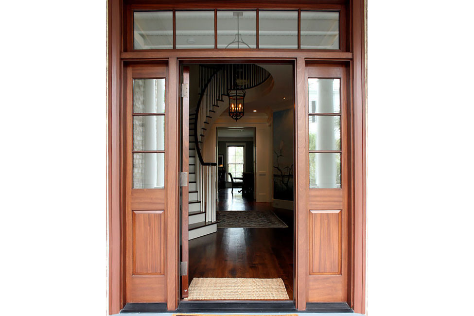 Foyer from Entry Porch